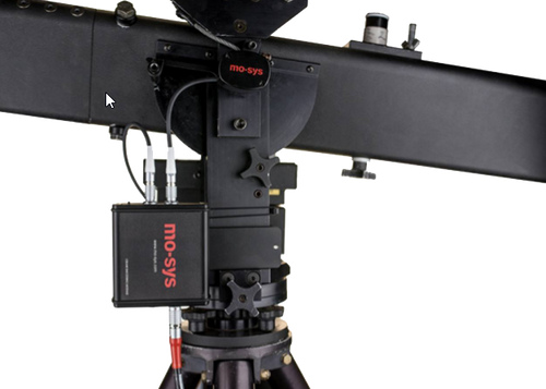 the Jimmy Jib system from Mo-Sys
