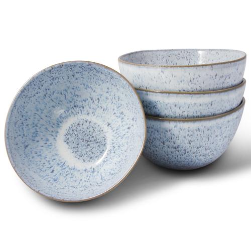 Light Blue Speckled Bowl Set of 4