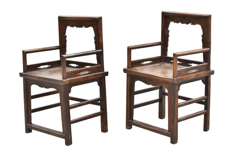 chair, rose chairs, pair, antique