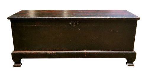 huge antique trunk, substantial