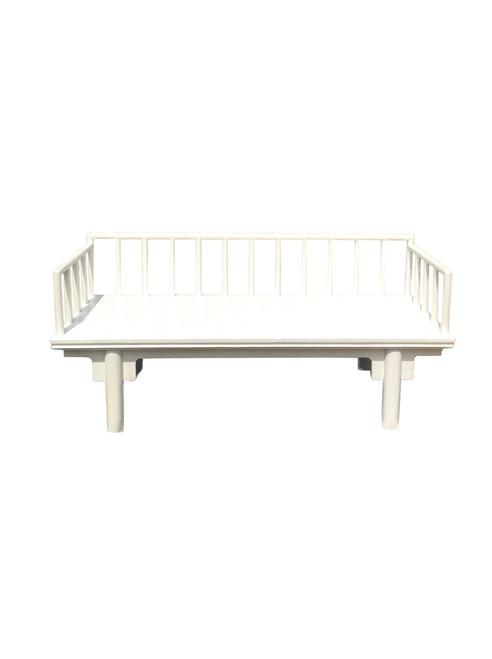 white asian bench