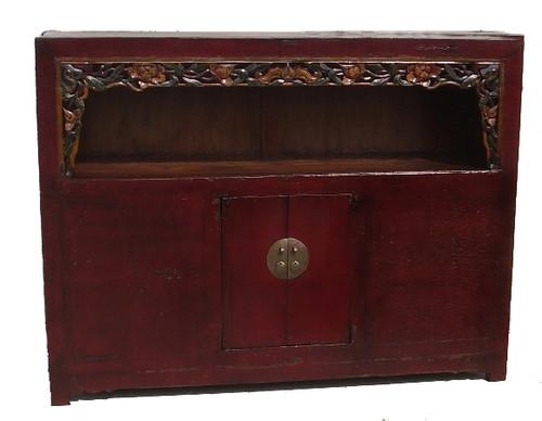 chest, open light, antique