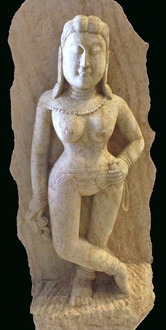 goddess, silk road, stone