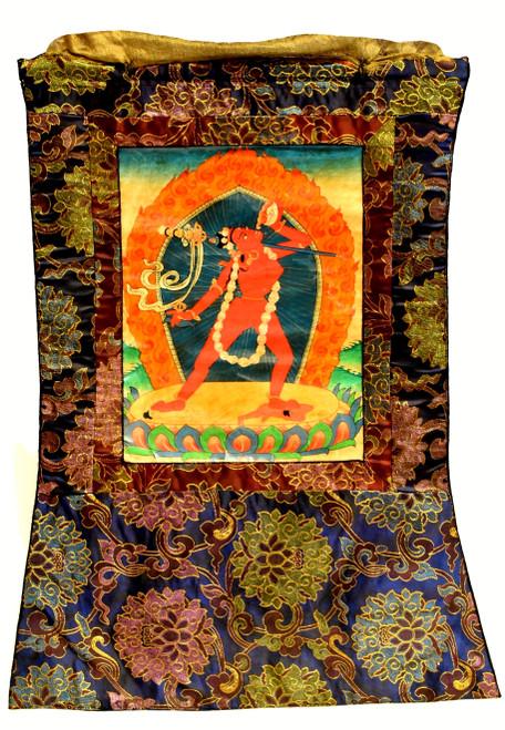 Vintage Hand Painted Tibetan Thangka Goddess Dakinis Tanka