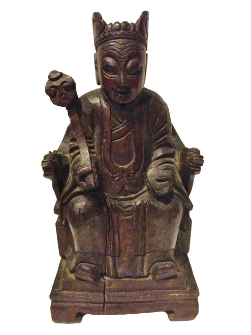 figure, antique, good fortune god