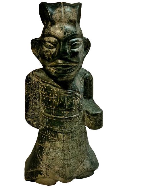 warrior, stone, neolithic style