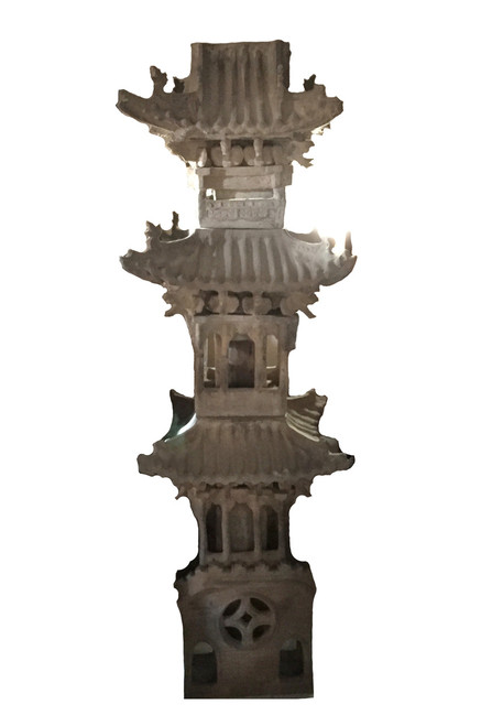 tower, terracotta, 18th century