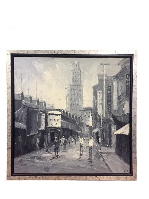 oil, old shanghai
