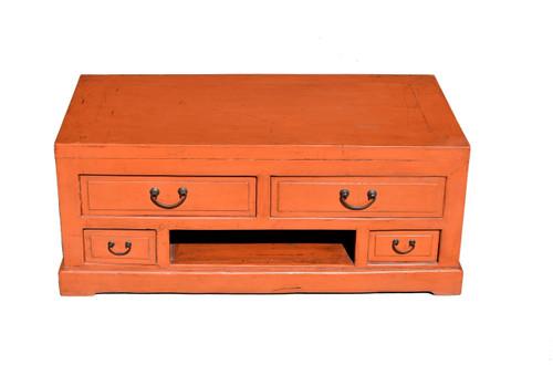 orange low chest