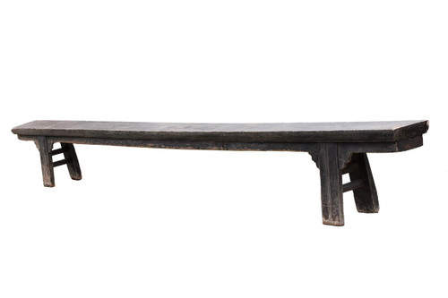 16 feet long antique bench, 18th century