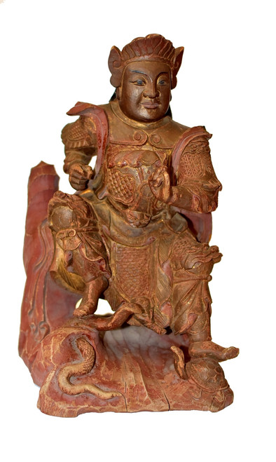 antique heaven general statue
