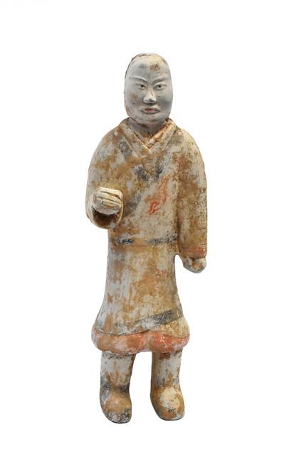 han pottery figure man