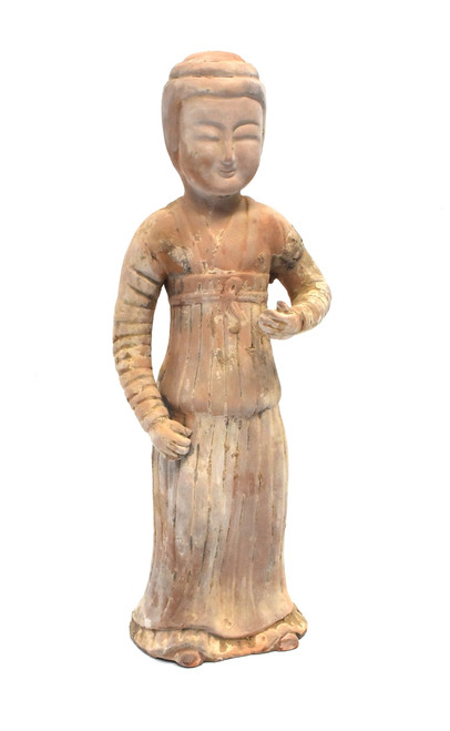 terracotta figure, governess