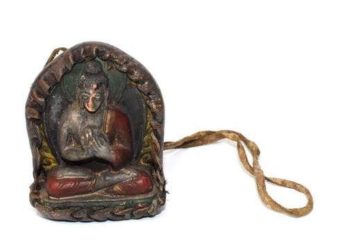 tibetan protection amulet 4, buddha teaching