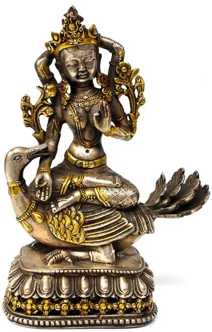 Tibetan Tara with Recumbent Goose