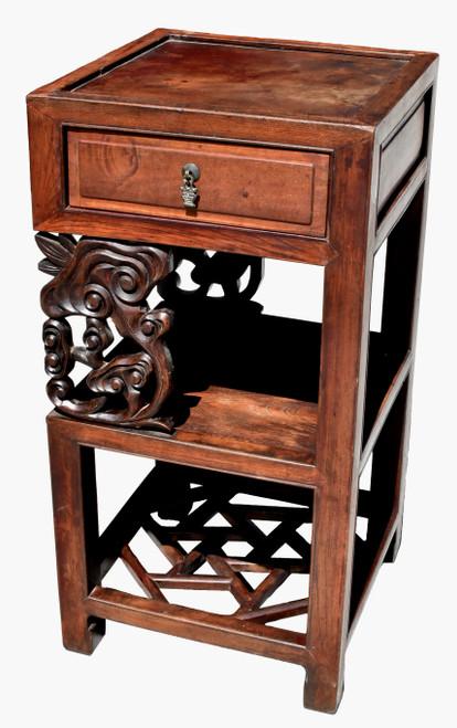 Antique Lin Zhi Side Table