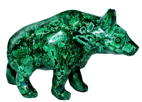 malachite bear, 2 lb