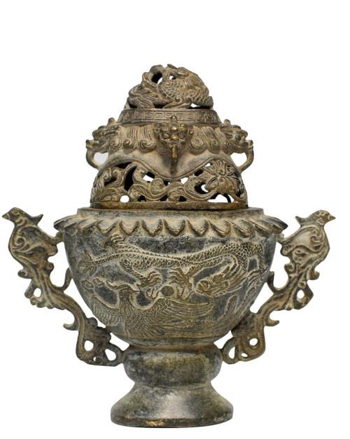 antique ceremonial incense burner