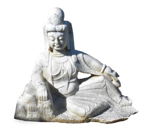 White Marble Kwan Yin