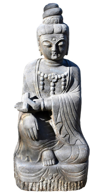 Stone Kwan Yin as a Teacher