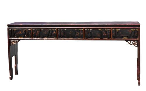 Narrow Long Antique Table