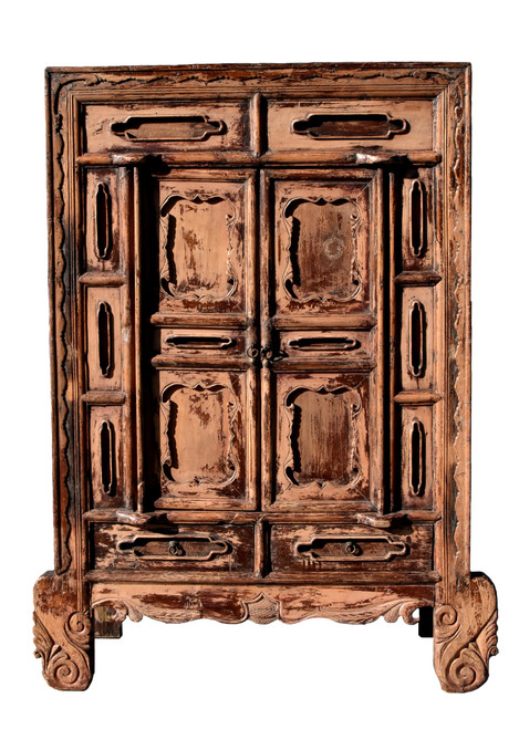 Antique Northern Chinese Rustic Cabinet