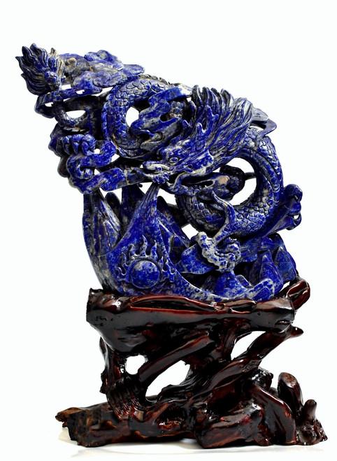 Natural Lapis Dragon, Multidimensional