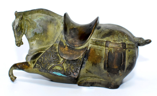 Antique Chinese Bronze Han Horse