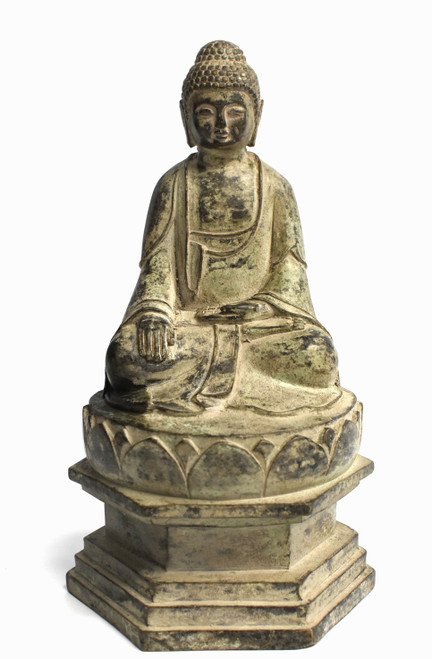 Antique Bronze Staue of Young Buddha