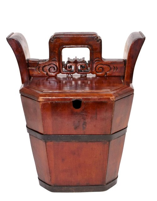Antique Tea Basket