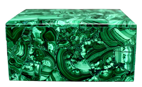 Large Malachite Box, 3 lb, Full Slab