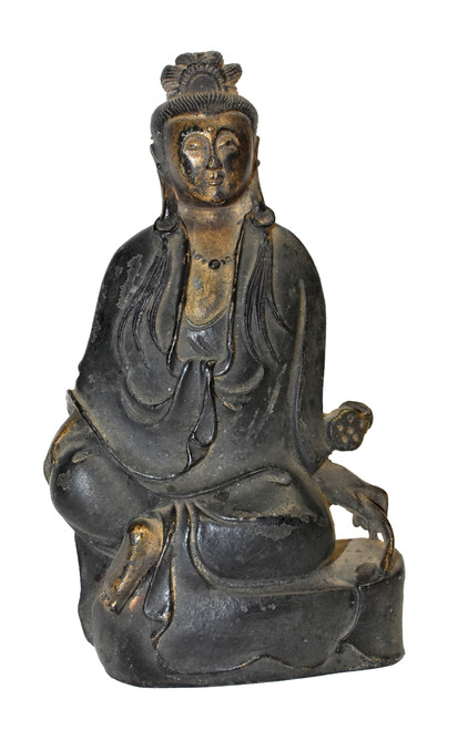 Antique Bronze Peace Guan Yin