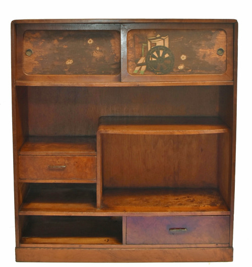 Vintage Japanese Display Tansu