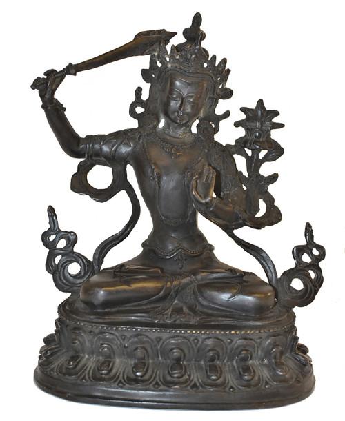 Bronze Tibetan Manjushree
