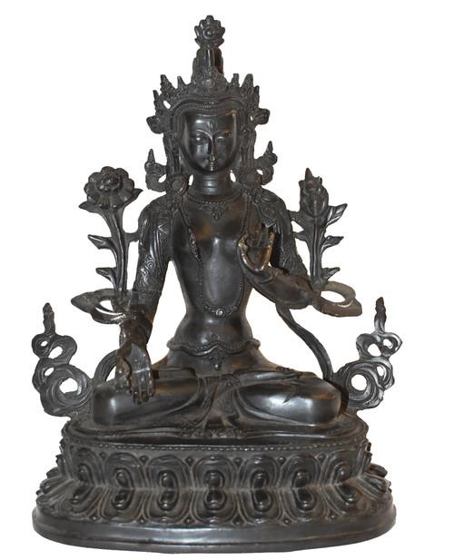 Bronze Tibetan White Tara