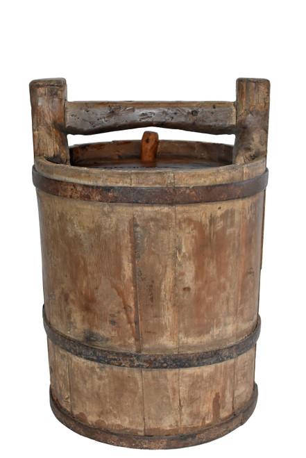 Antique Jujube Wine Barrel