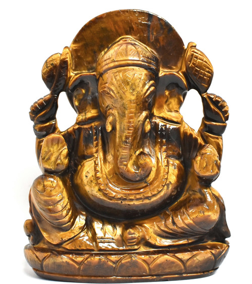 Tiger's Eye Ganesh