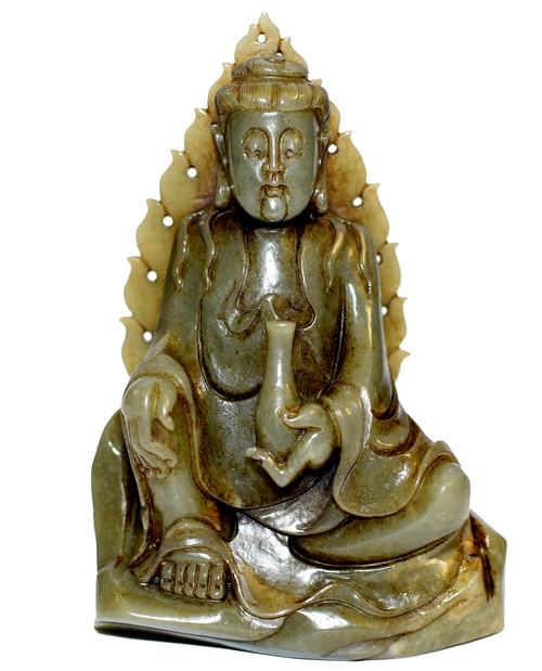 Nephrite Jade Buddha