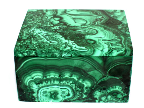 Malachite Box 1.4 lb Full Slab