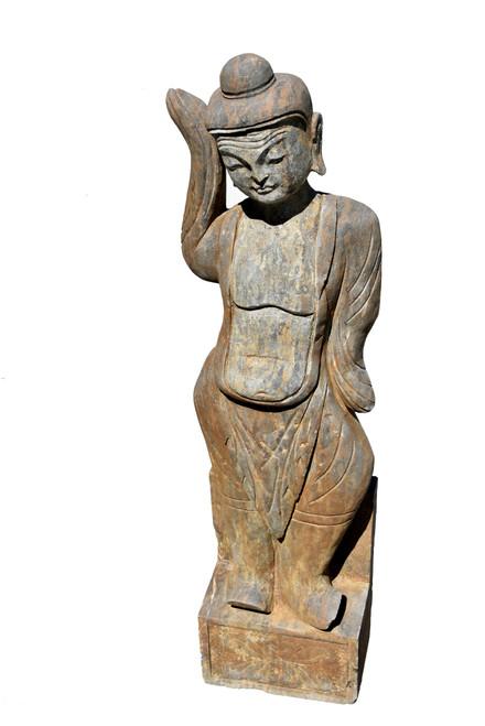 Antique Stone Dancer
