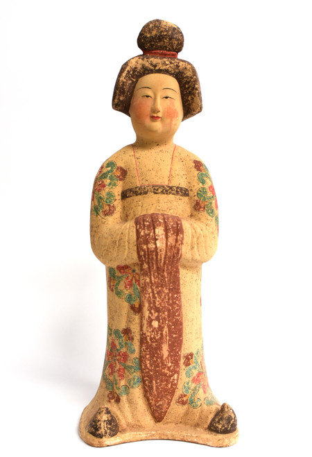 Tang Court Lady in Floral Robe