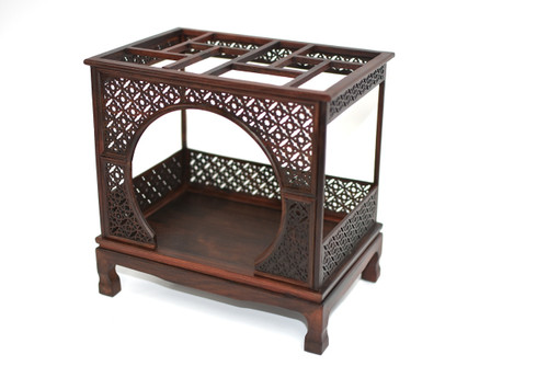 mini rosewood moon bed