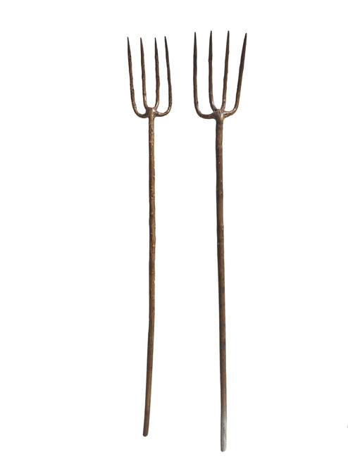 pitchforks, set of 2