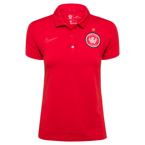 2019/20 Womens Red Nike Polo