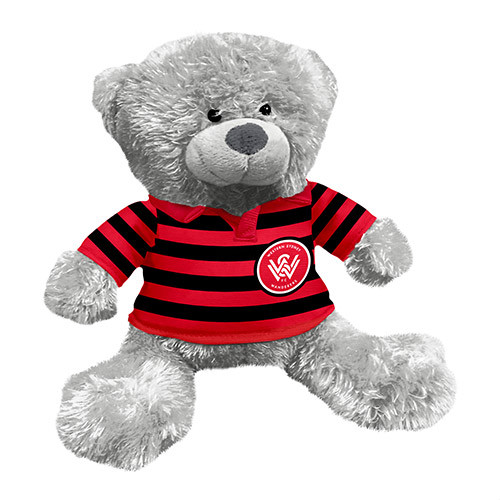 WSW Grey Plush Bear