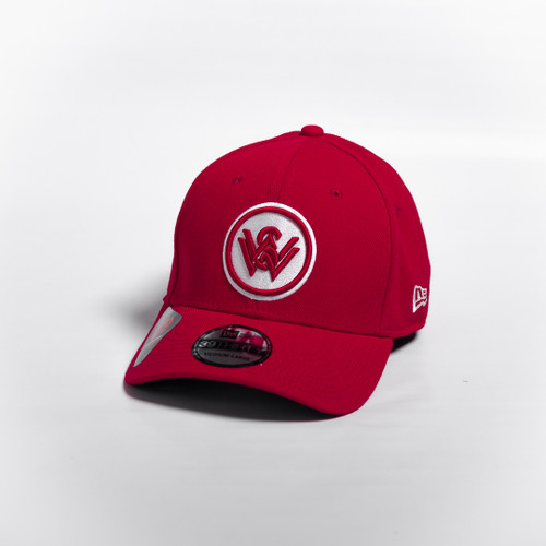 New Era Red 39THIRTY Fitted Cap