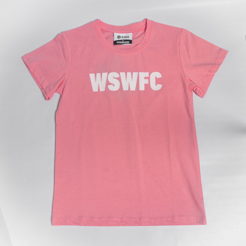 Kids WSW Statement Pink T-Shirt