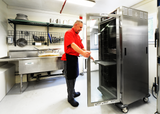 Maximizing Space in a Small Commercial Kitchen