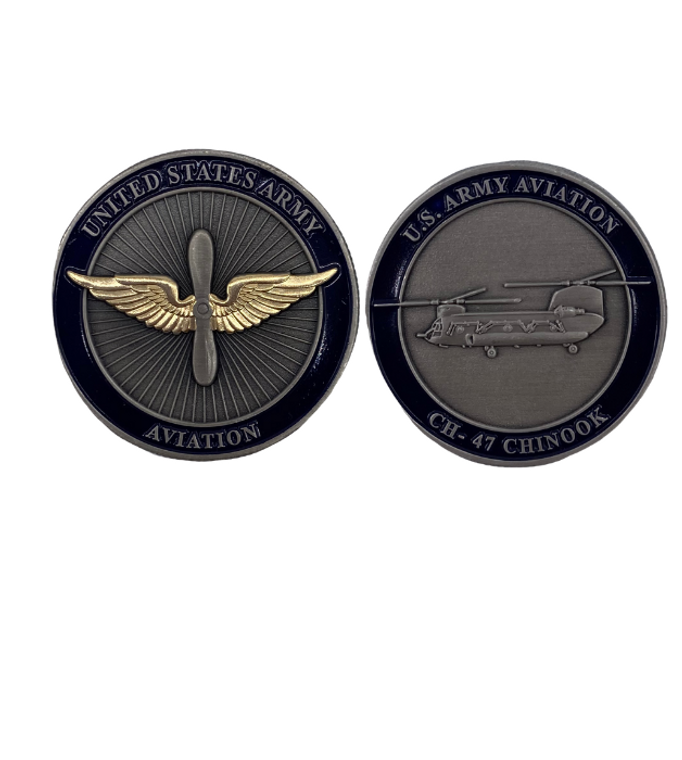 Army Aviation CHINOOK Coin