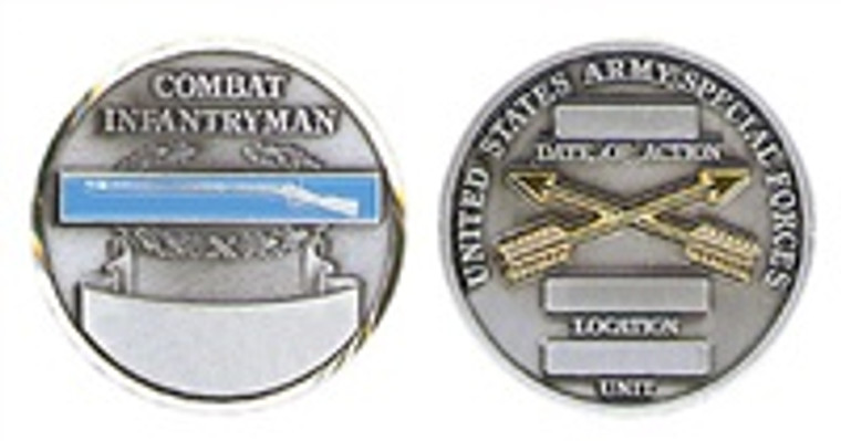 Combat Infantry SF Coin